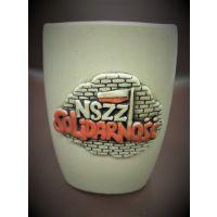 Kubek ceramiczny NSZZ Solidarność