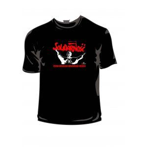 Koszulka bawełniana czarna JP II S