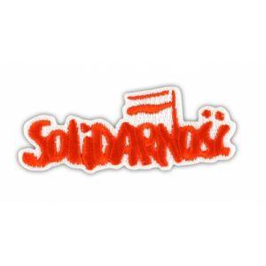 Naszywka Solidarność