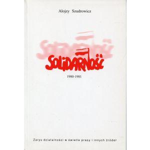 Szudrowicz Alojzy, Solidarność 1980-81